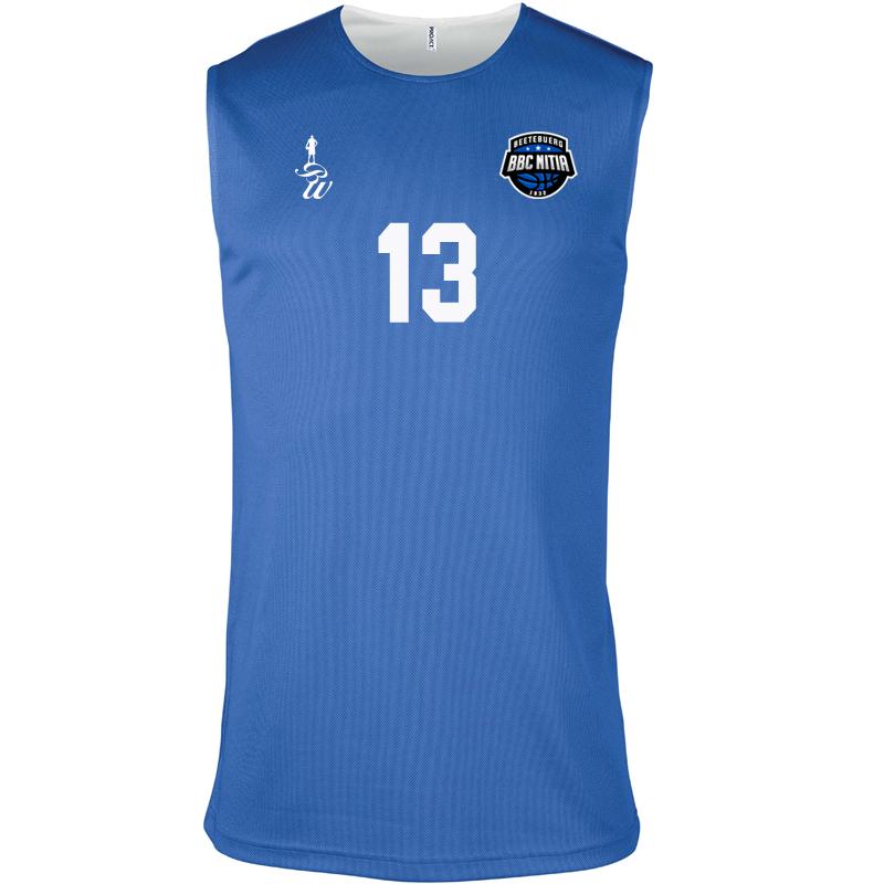 Reversible basketball jersey (adult) | BBC Nitia
