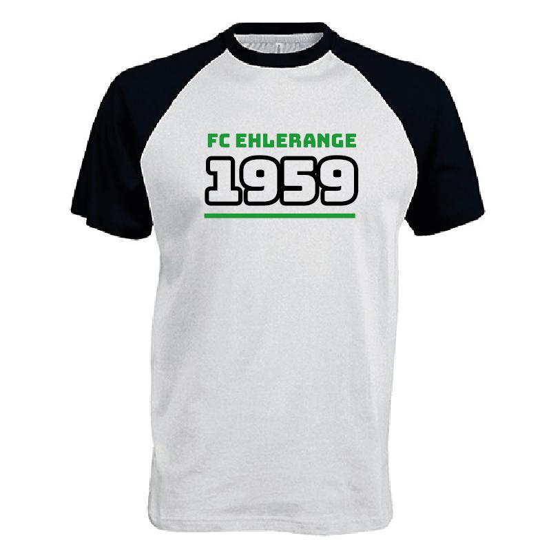 1959 two-tone T-shirt (adult) | FC Éilereng