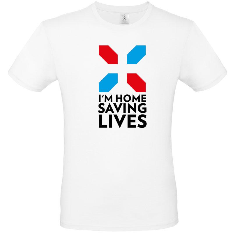 I'm home, saving lives T (kids) | Teamline Specials